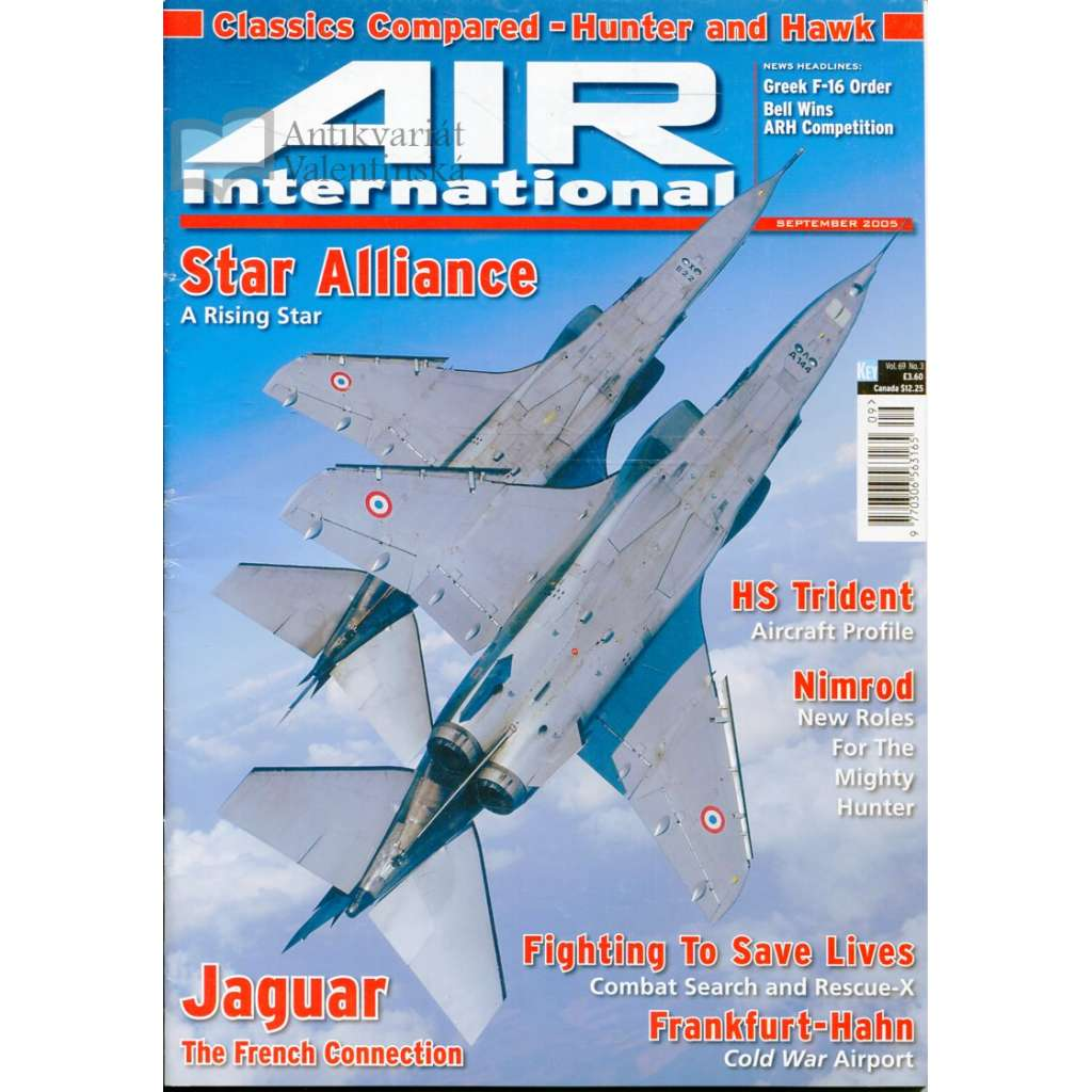 Air International 9/2005, Vol. 69, No. 3 (letectví, letadla)