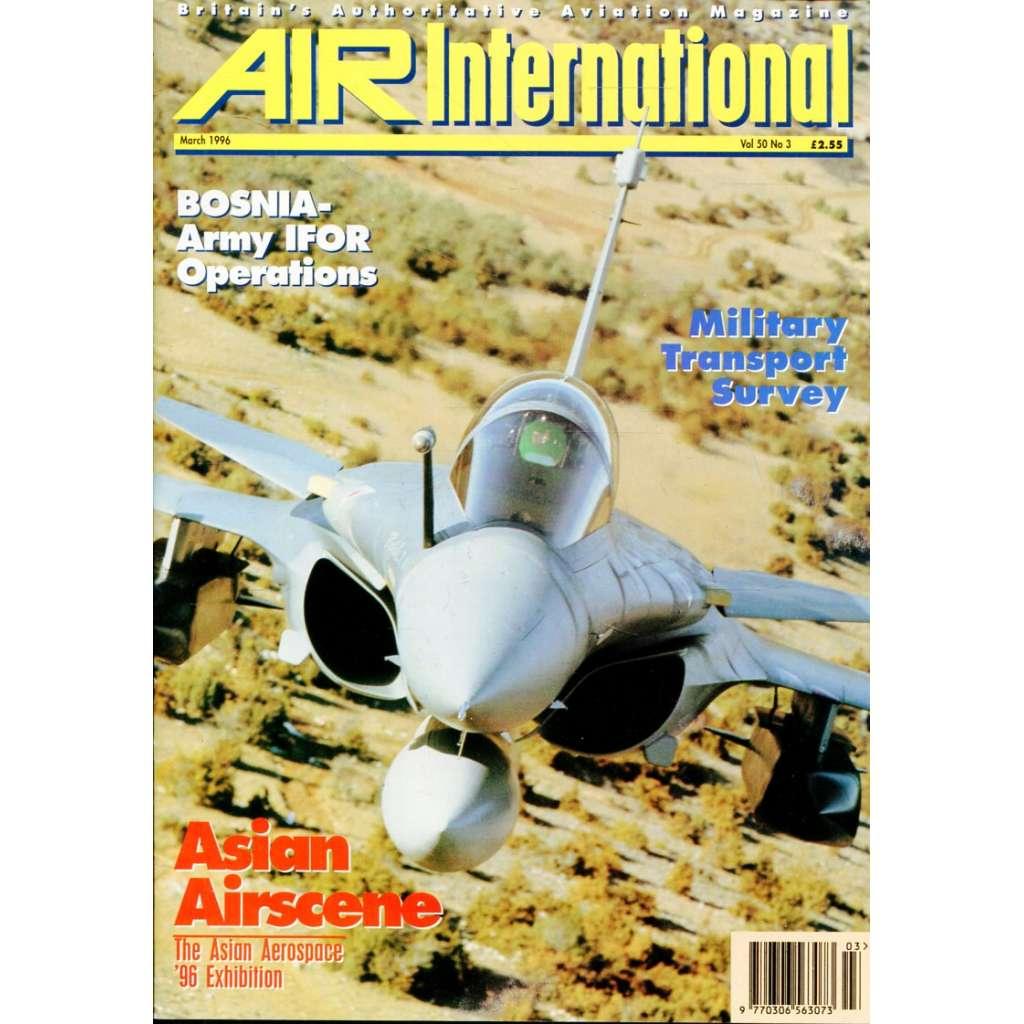 Air International 3/1996, Vol. 50, No. 3 (letectví, letadla)