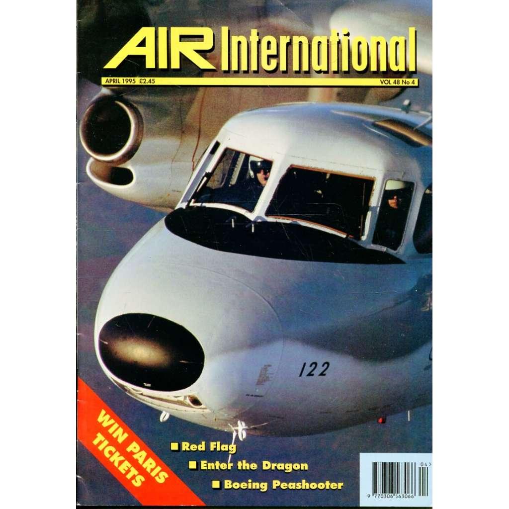 Air International 4/1995, Vol. 48, No. 4 (letectví, letadla)