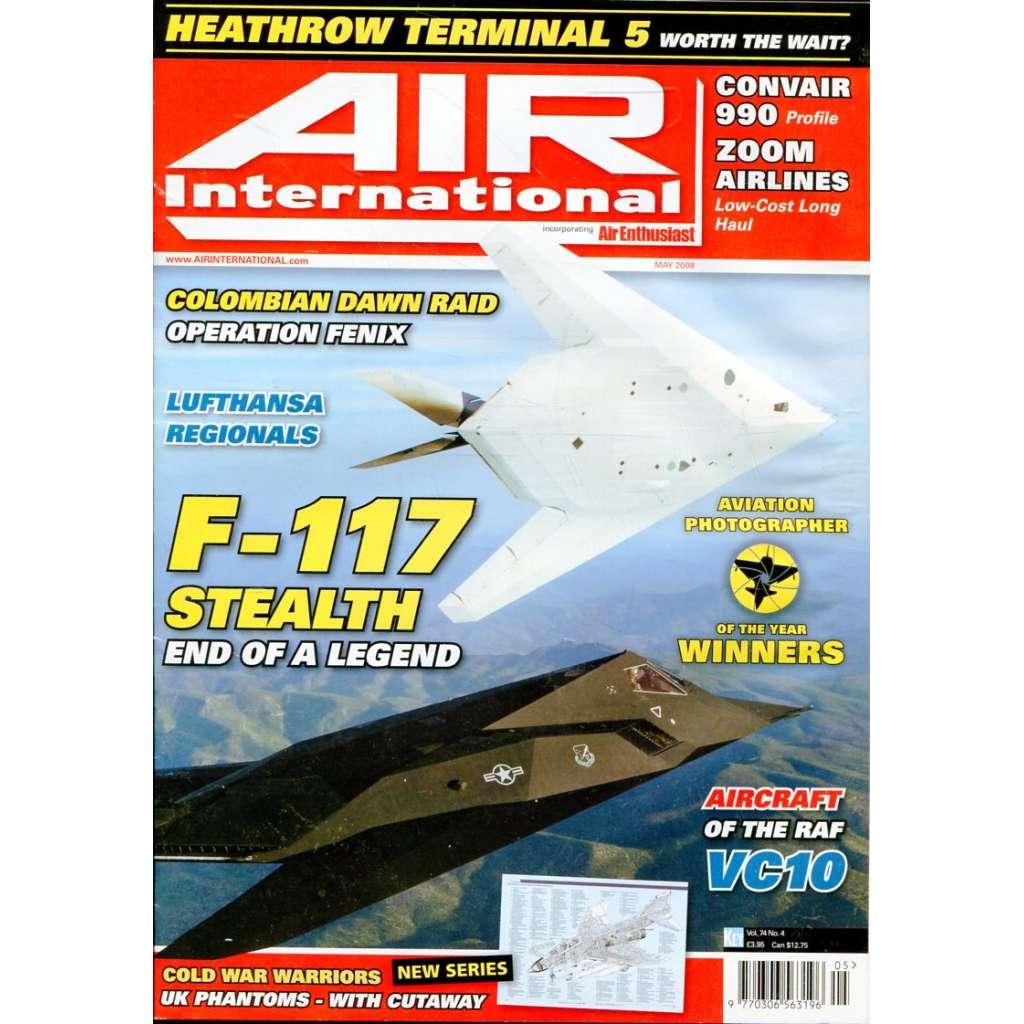 Air International 5/2008, Vol. 74, No. 5 (letectví, letadla)