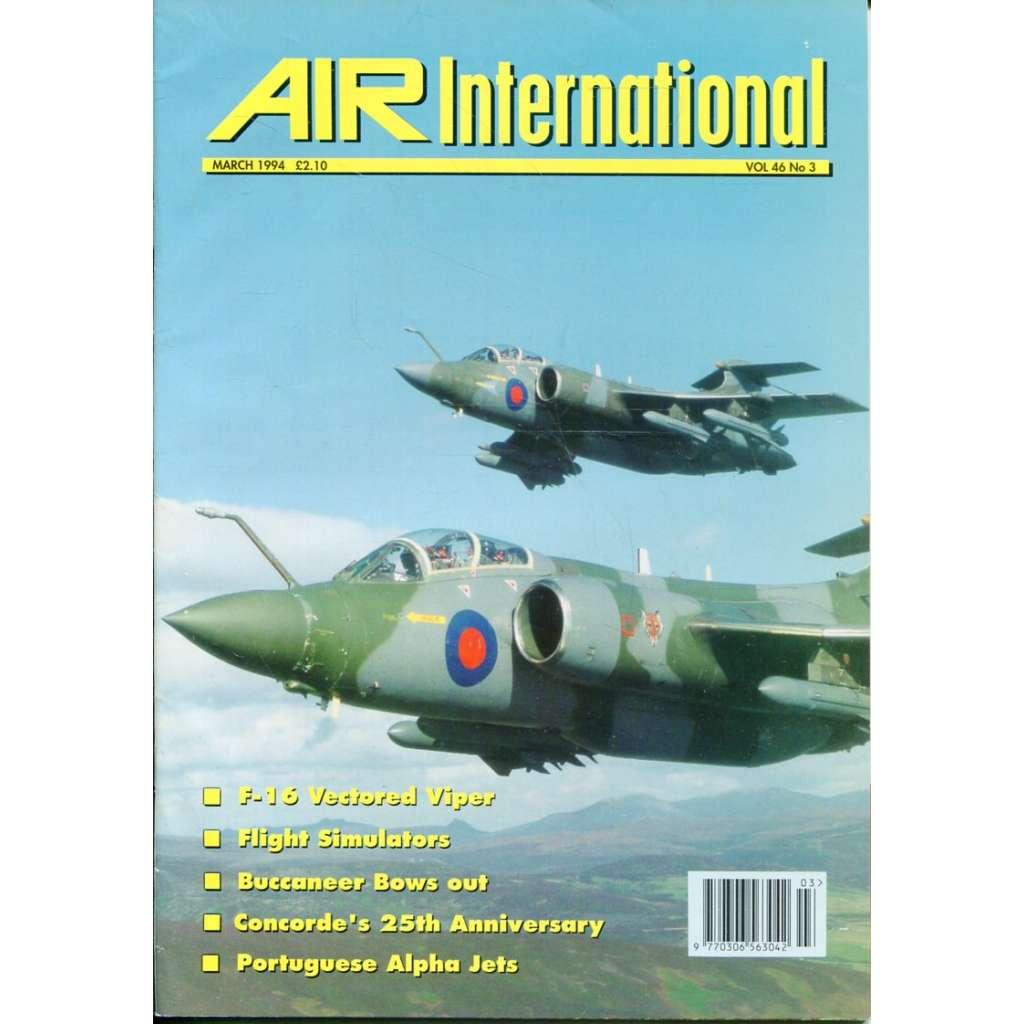 Air International 3/1994, Vol. 46, No. 3 (letectví, letadla)