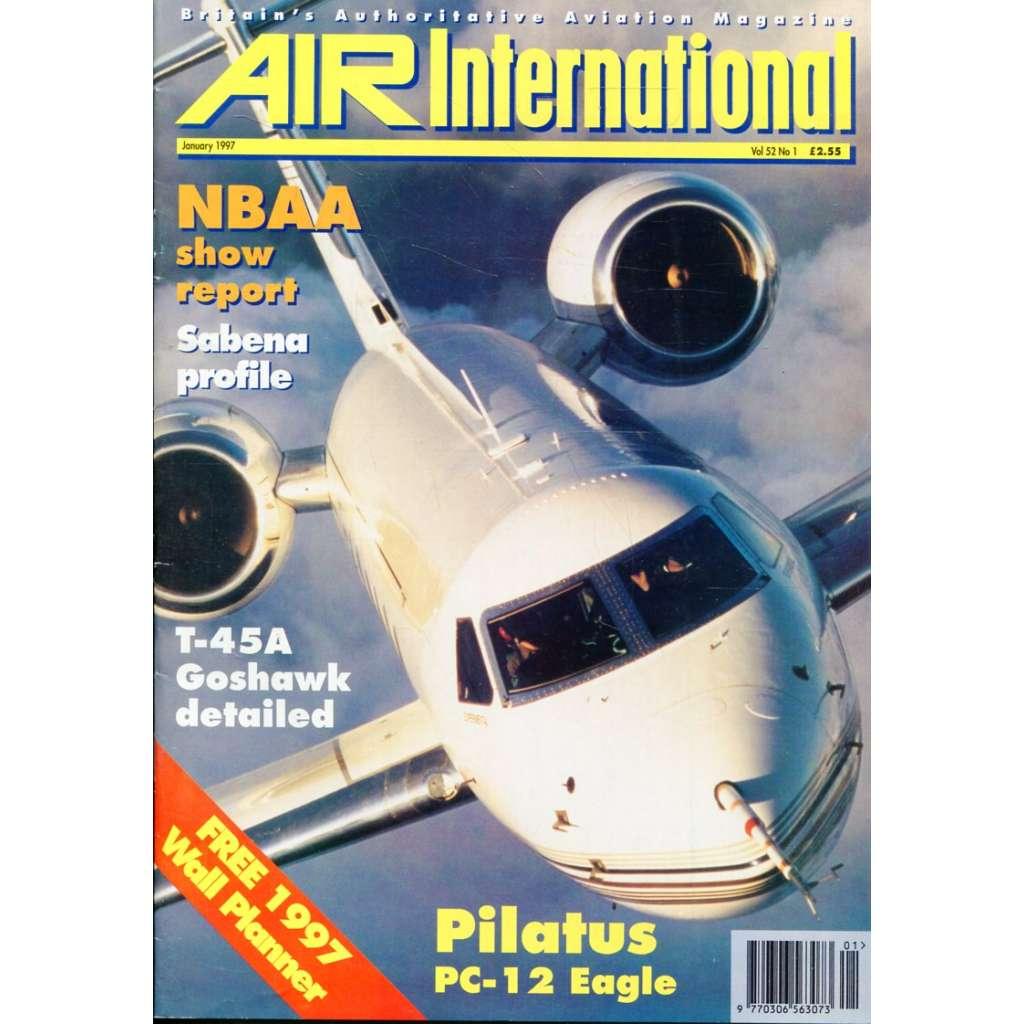 Air International 1/1997, Vol. 52, No. 1 (letectví, letadla)