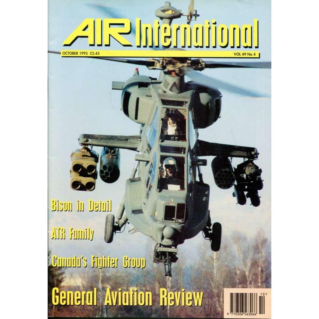 Air International 10/1995, Vol. 49, No. 4 (letectví, letadla)
