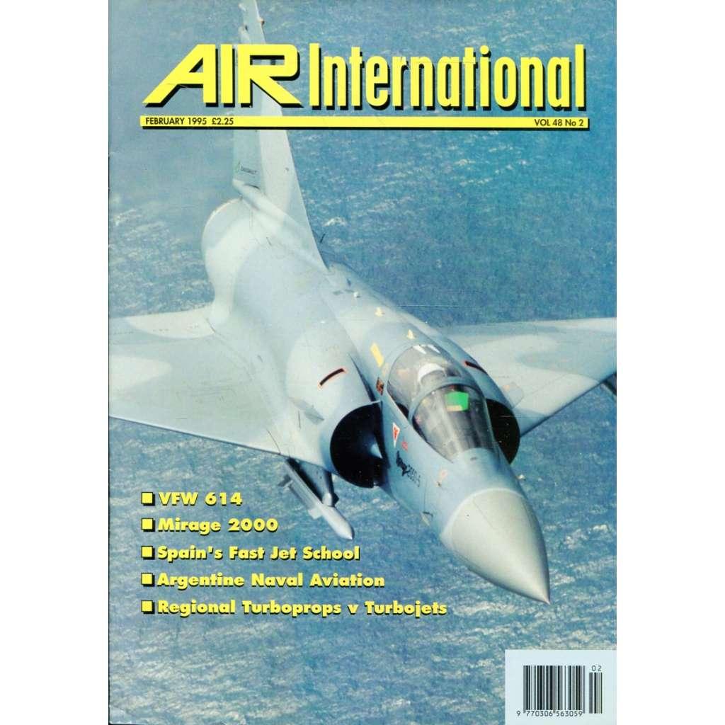 Air International 2/1995, Vol. 48, No. 2 (letectví, letadla)
