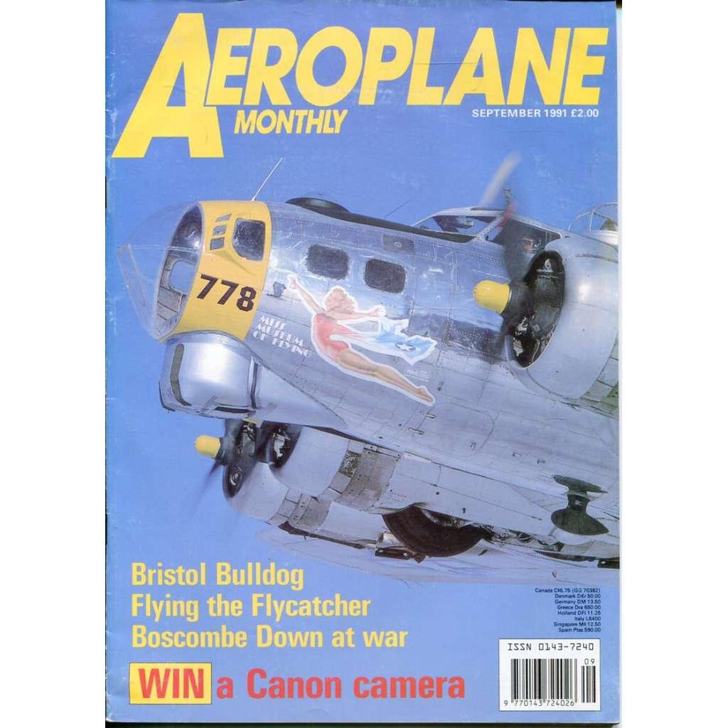 Aeroplane Monthly 9/1991, Vol. 19, No. 9, Issue No. 221 (letectví, letadla)