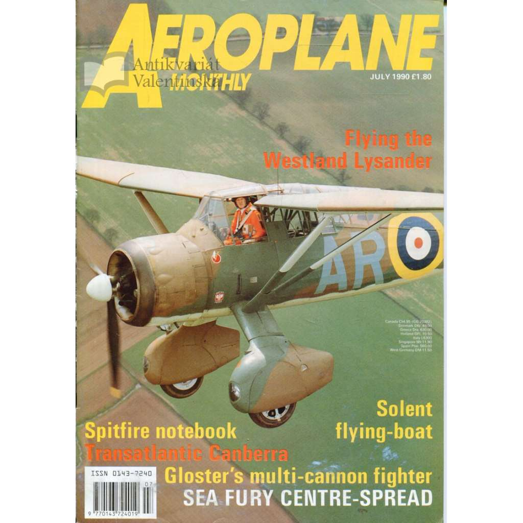 Aeroplane Monthly 7/1990, Vol. 18, No. 7, Issue No. 207 (letectví, letadla)