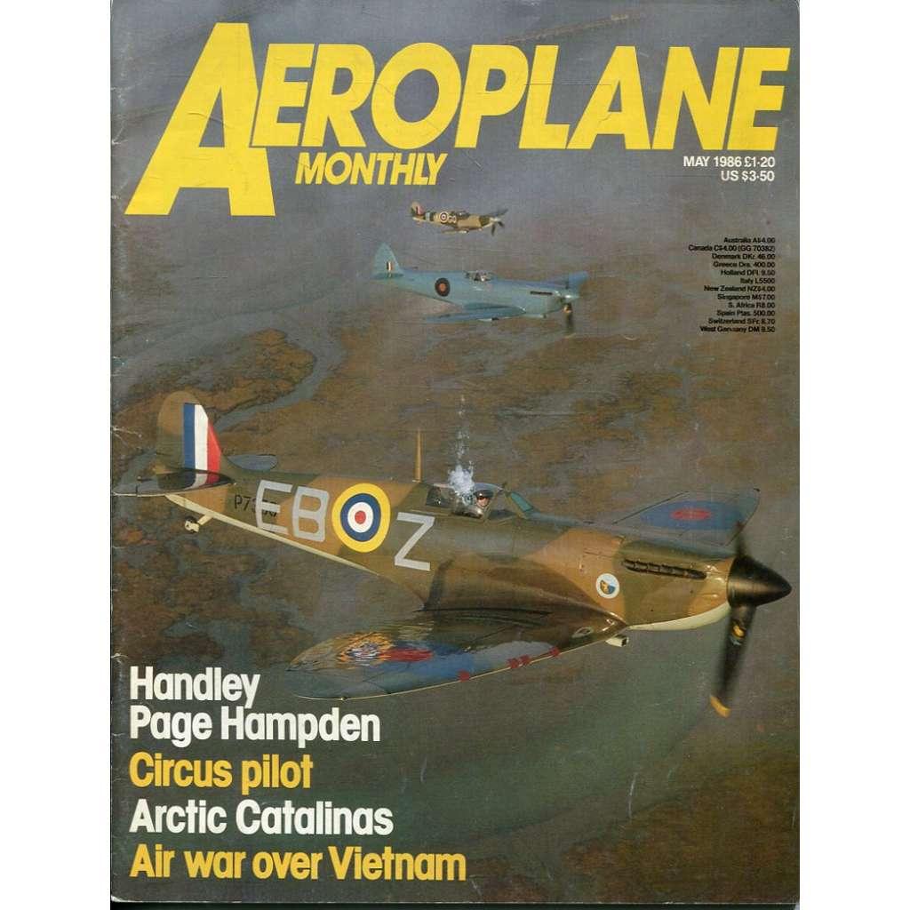 Aeroplane Monthly 5/1986, Vol. 14, No. 5, Issue No. 157 (letectví, letadla)