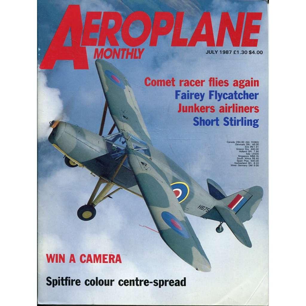 Aeroplane Monthly 7/1987, Vol. 15, No. 7, Issue No. 171 (letectví, letadla)