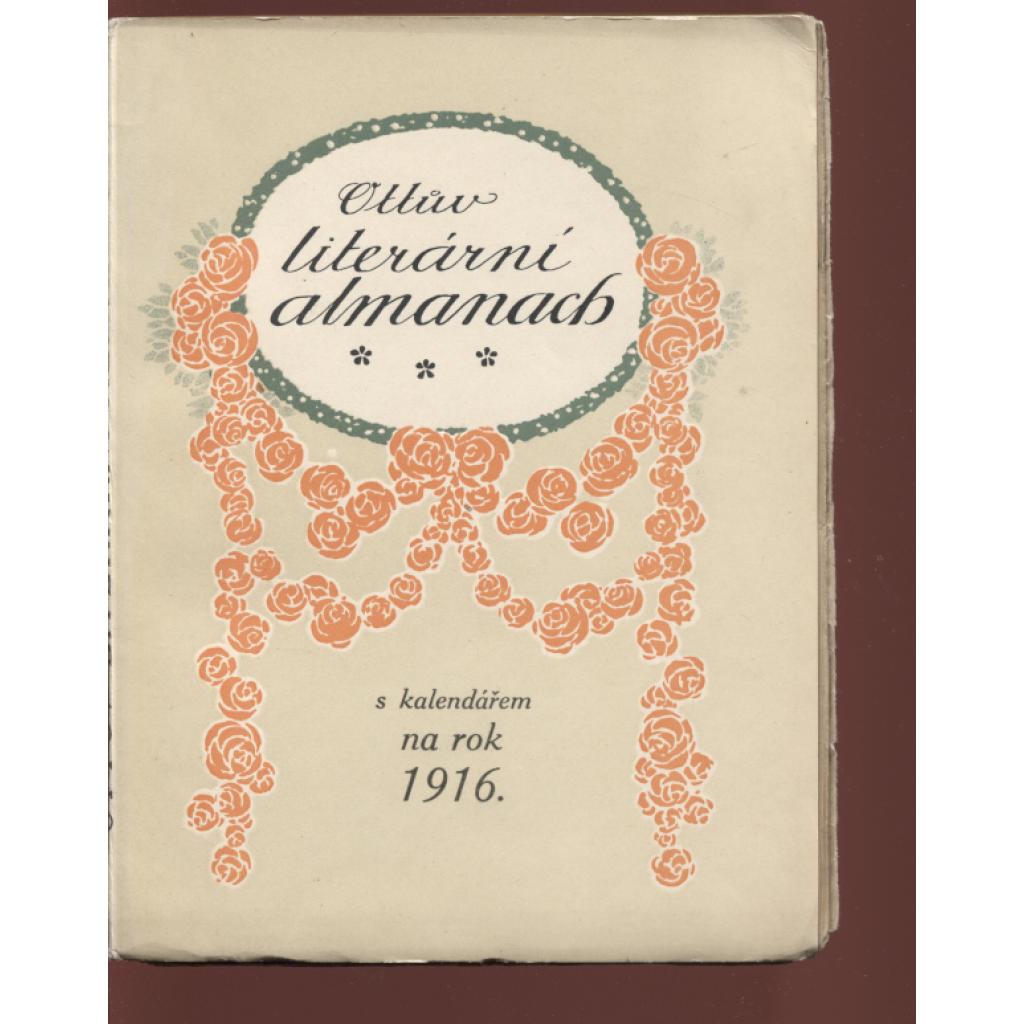 Ottův literární almanach s kalendářem na rok 1916