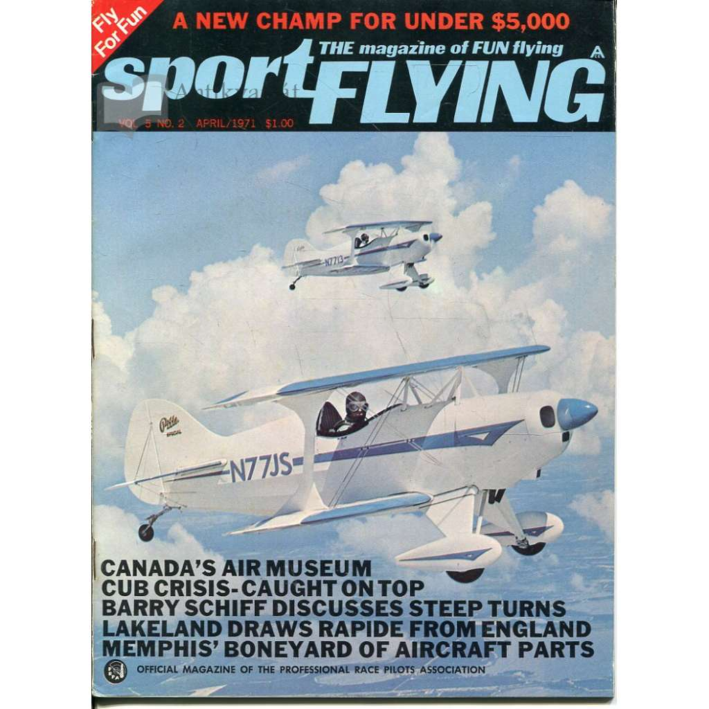 Sport Flying 4/1971, Vol. 5, No. 2 (letadla, letectví)