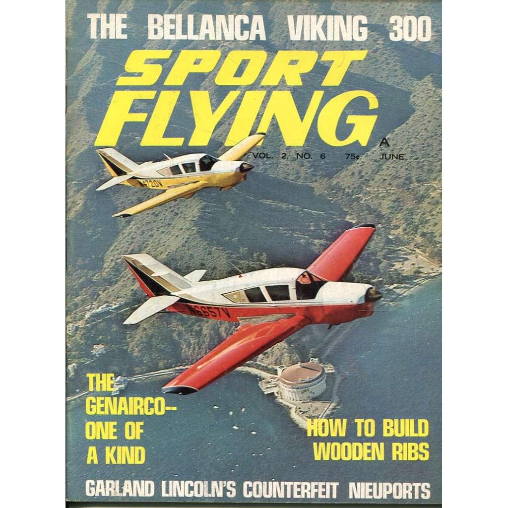 Sport Flying 6/1968, Vol. 2, No. 6 (letadla, letectví)