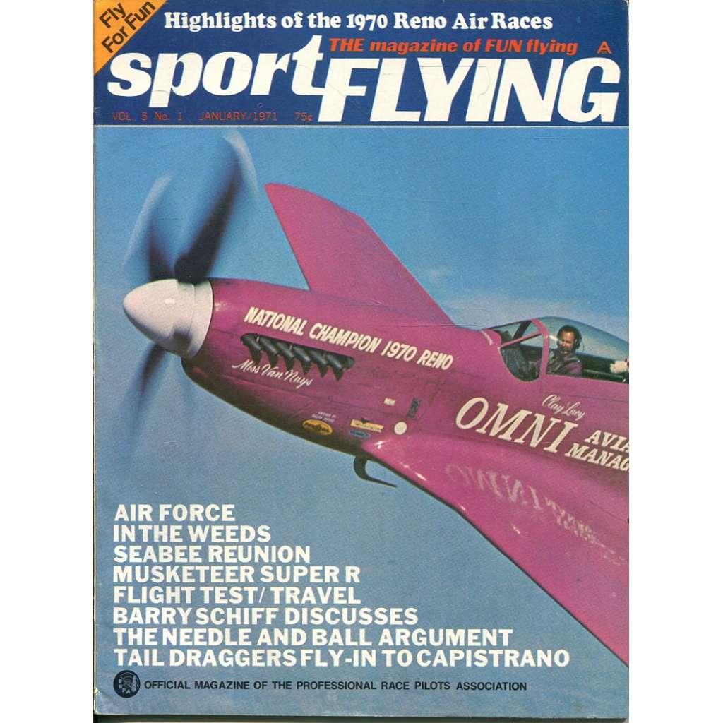 Sport Flying 1/1971, Vol. 5, No. 1 (letadla, letectví)