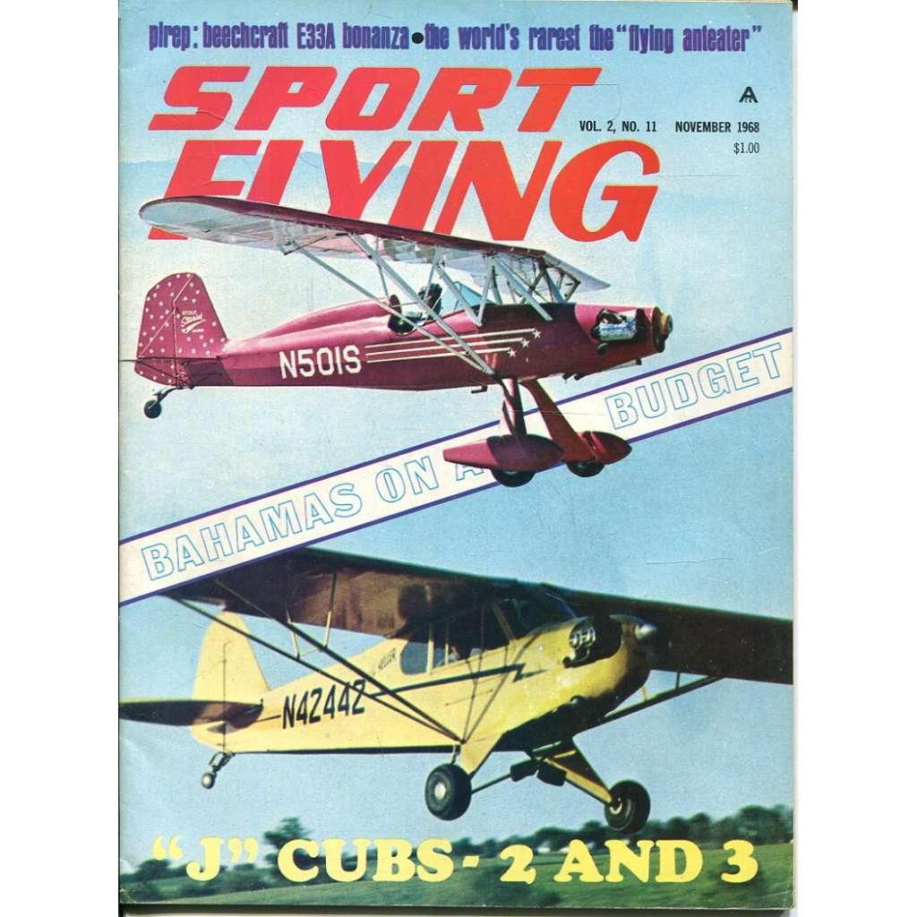 Sport Flying 11/1968, Vol. 2, No. 11 (letadla, letectví)