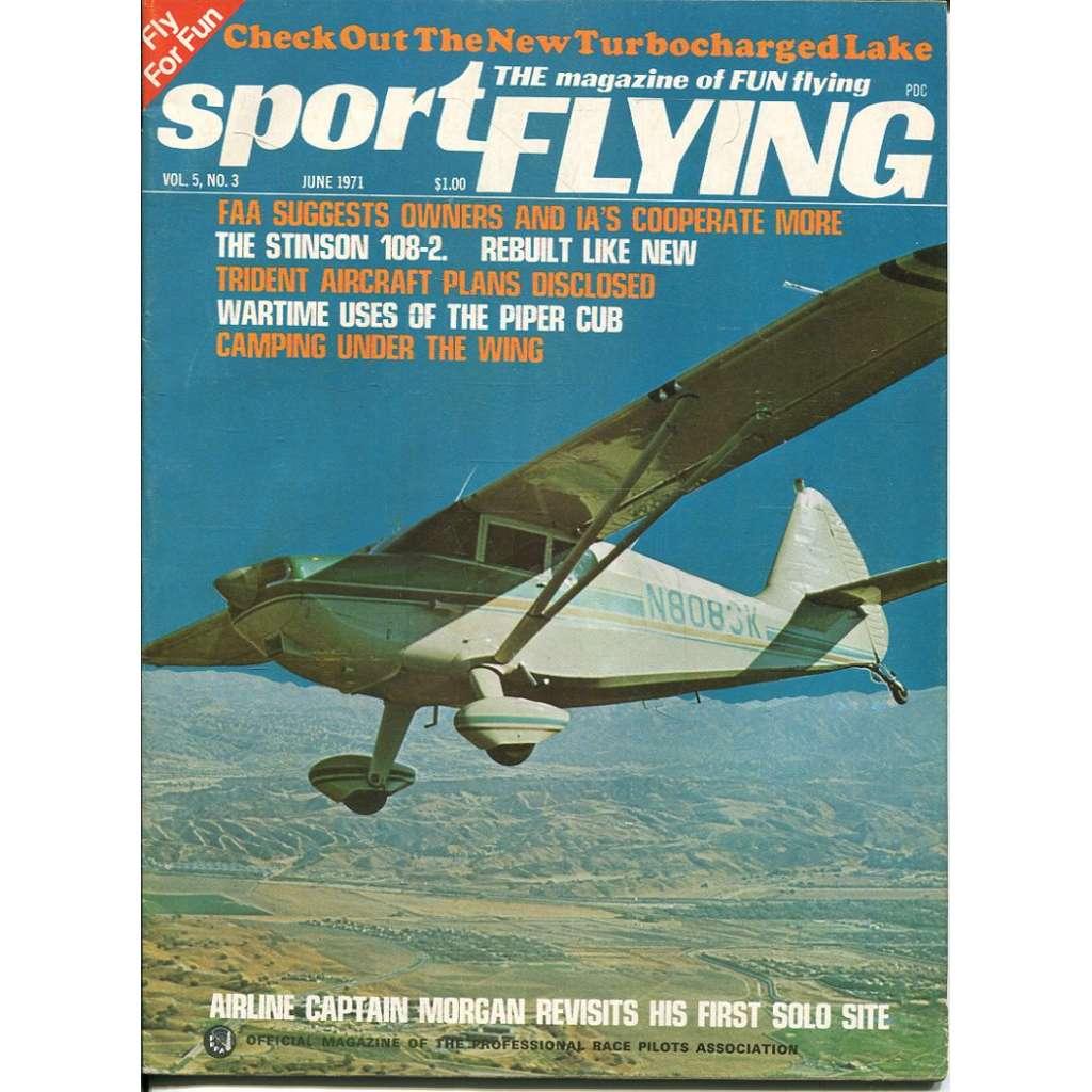Sport Flying 6/1971, Vol. 5, No. 3 (letadla, letectví)