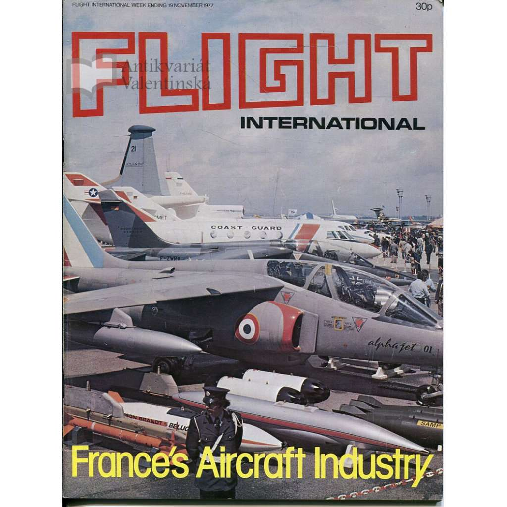 Flight International 19/11/1977, No. 3584, Vol. 112 (letadla, letectví)