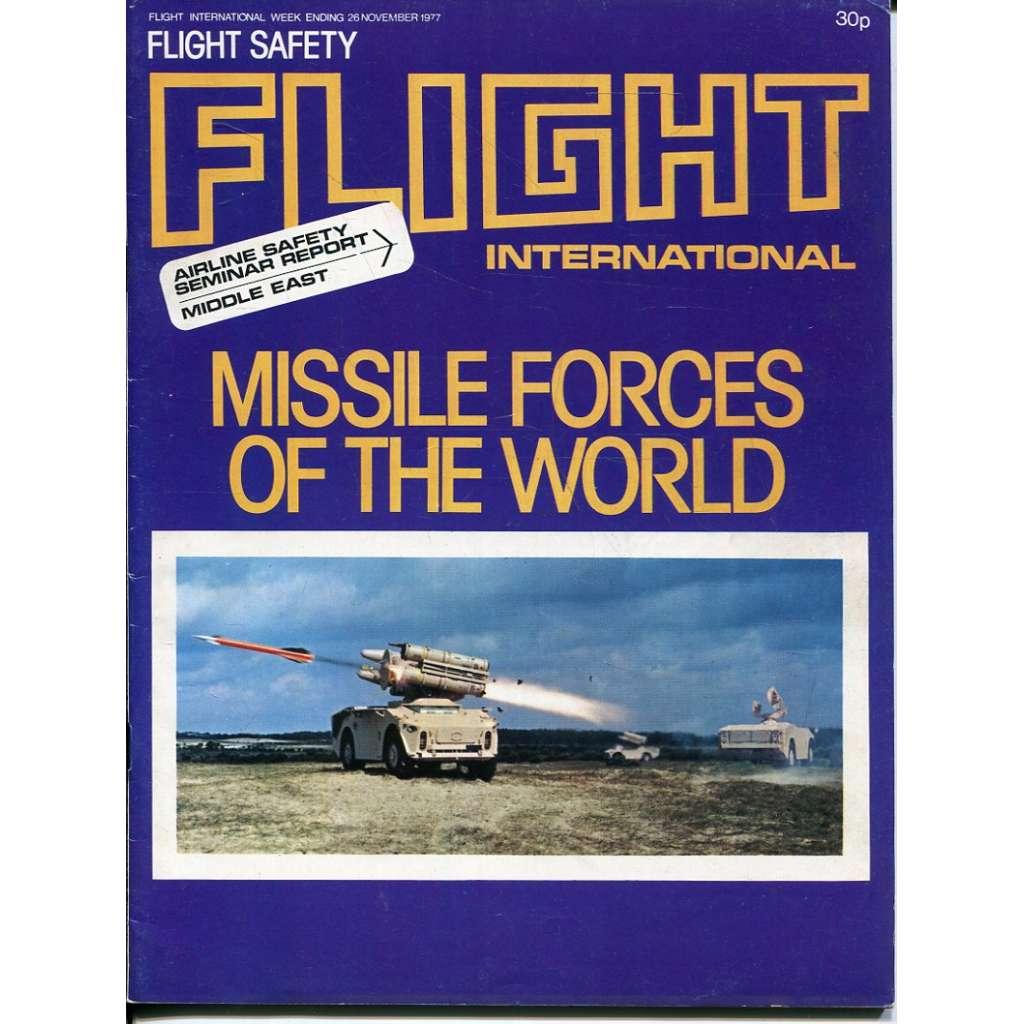 Flight International 26/11/1977, No. 3585, Vol. 112 (letadla, letectví)