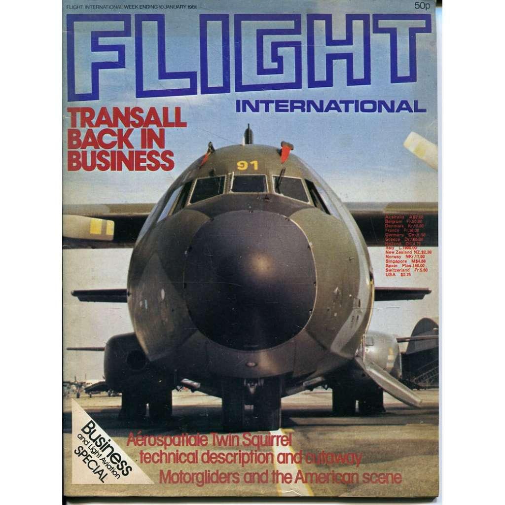 Flight International 10/1/1981, No. 3740, Vol. 119 (letadla, letectví)