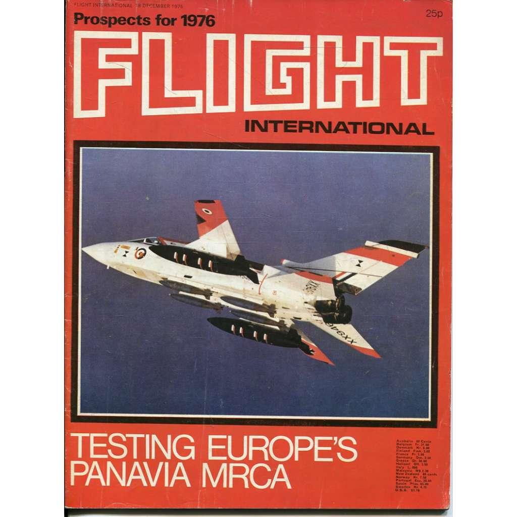 Flight International 18/12/1975, No. 3484, Vol. 108 (letadla, letectví)