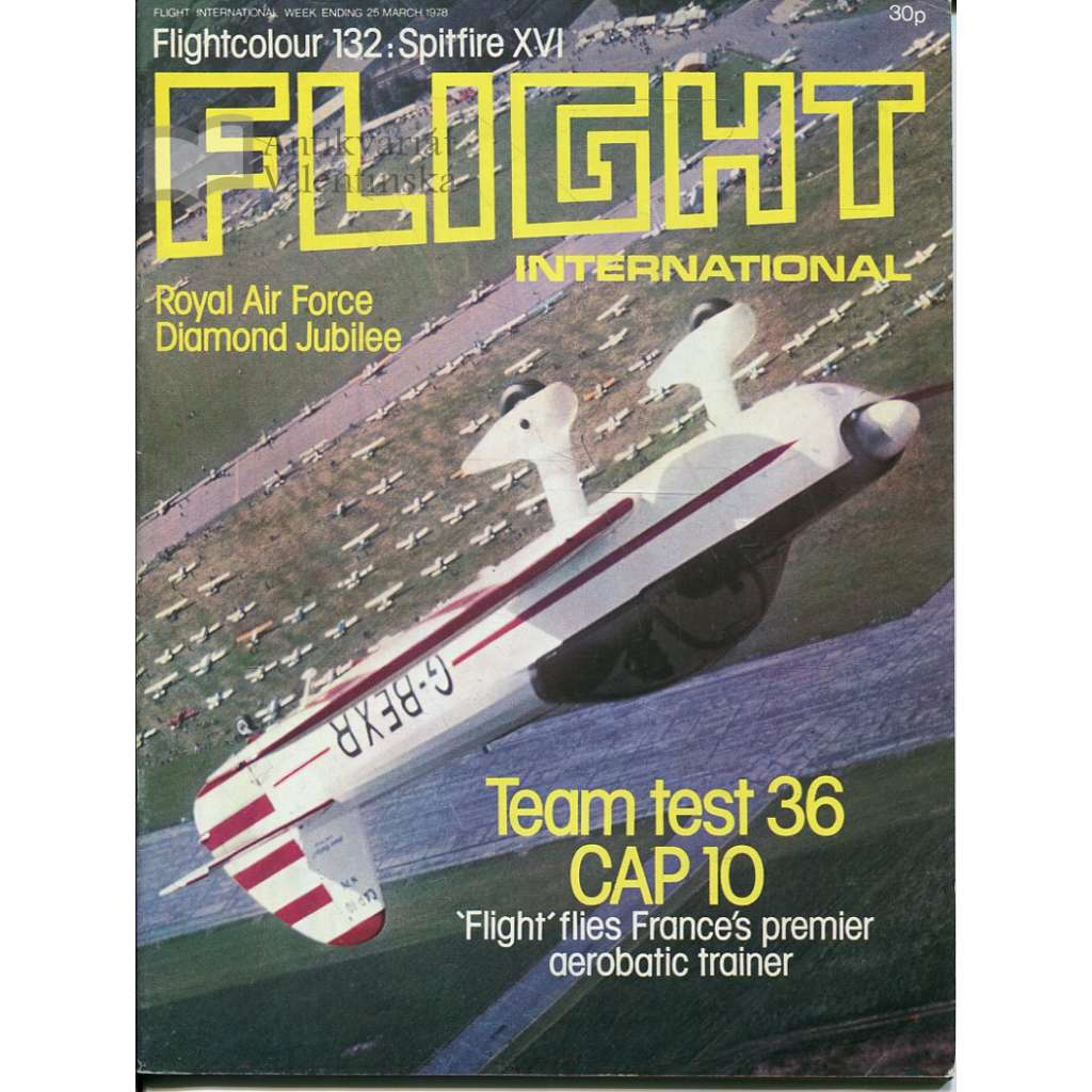 Flight International 25/3/1978, No. 3601, Vol. 113 (letadla, letectví)