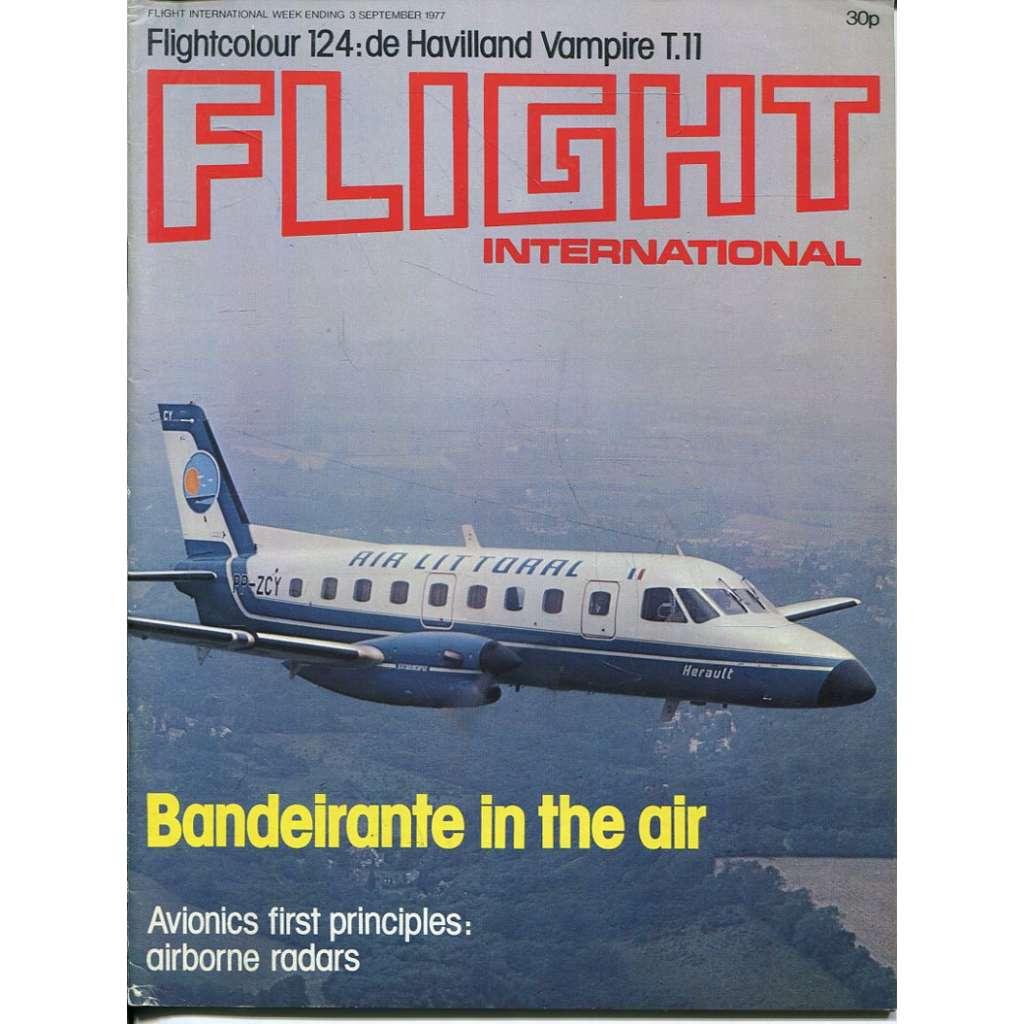 Flight International 3/9/1977, No. 3573, Vol. 112 (letadla, letectví)