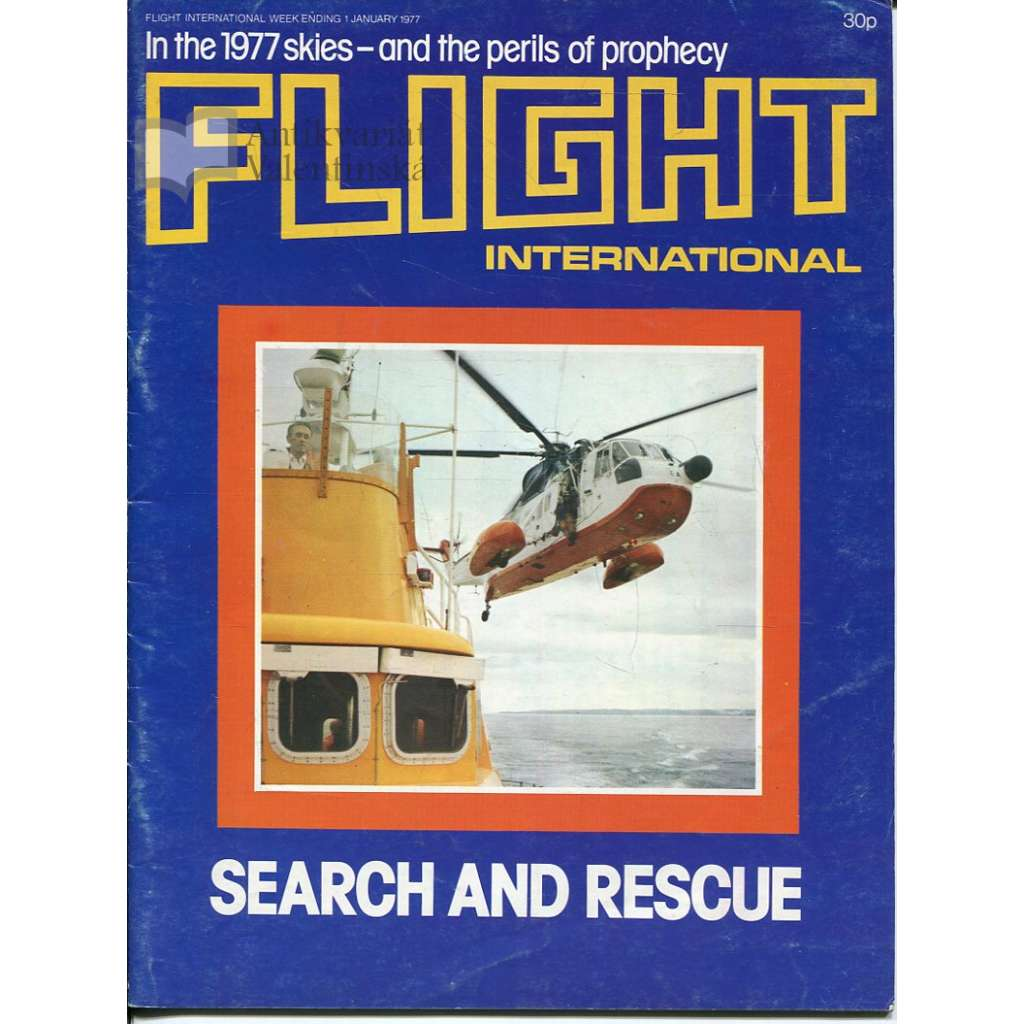 Flight International 1/1/1977, No. 3538, Vol. 111 (letadla, letectví)