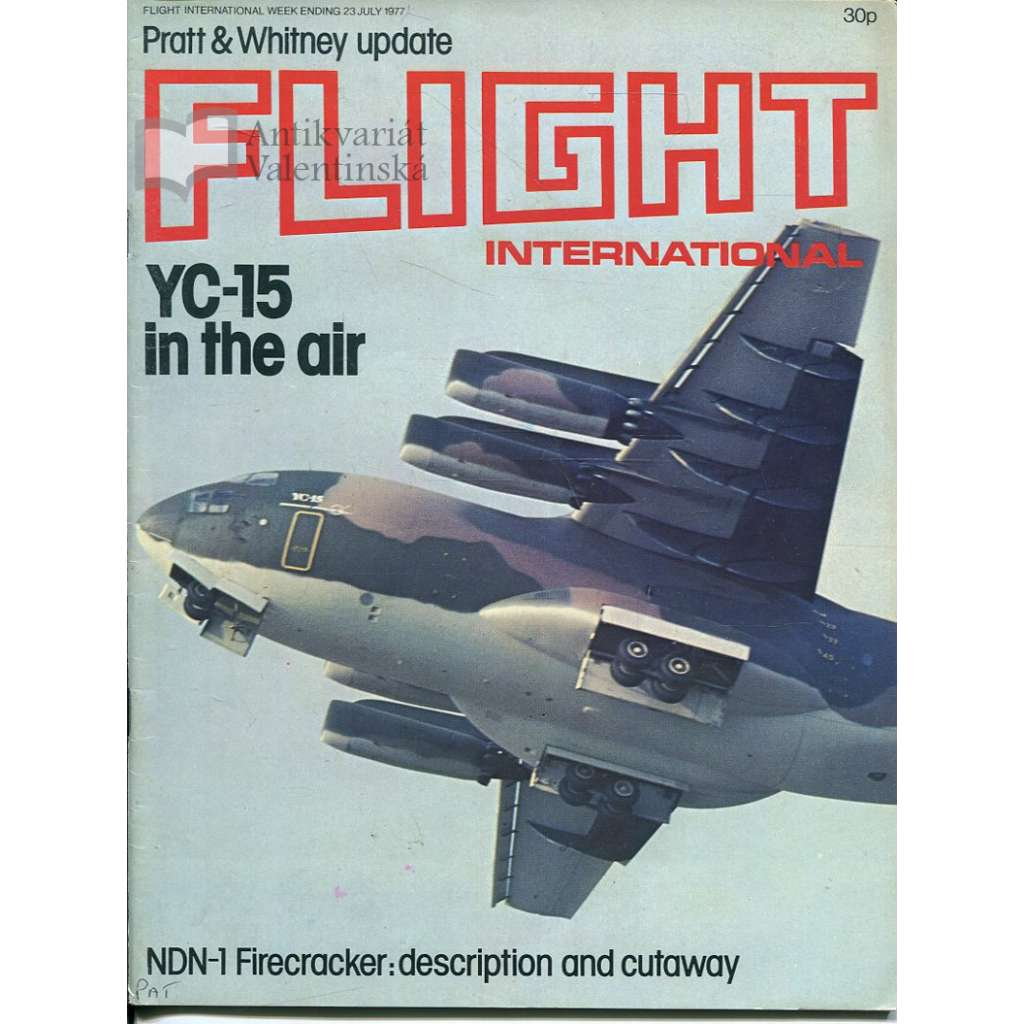 Flight International 23/7/1977, No. 3567, Vol. 112 (letadla, letectví)