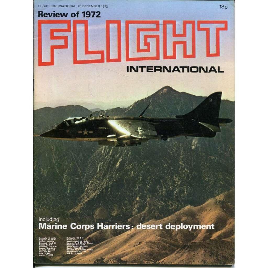 Flight International 28/12/1972, No. 3329, Vol. 102 (letadla, letectví)