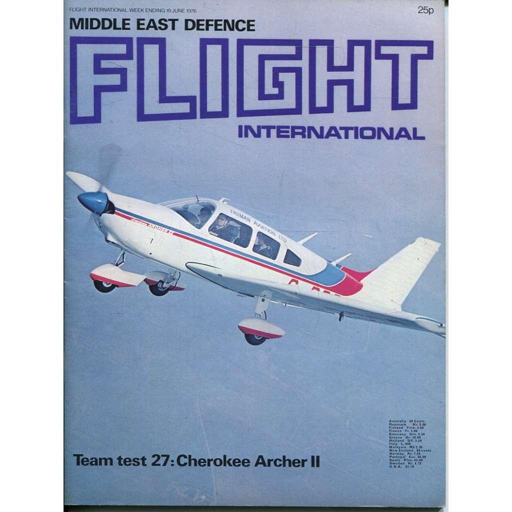 Flight International 19/6/1976, No. 3510, Vol. 109 (letadla, letectví)