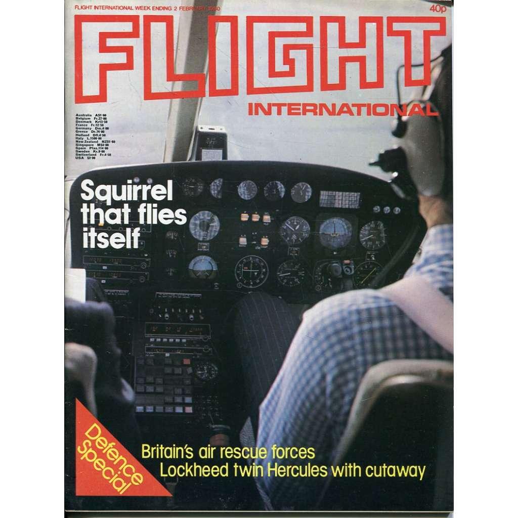 Flight International 2/2/1980, No. 3698, Vol. 117 (letadla, letectví)
