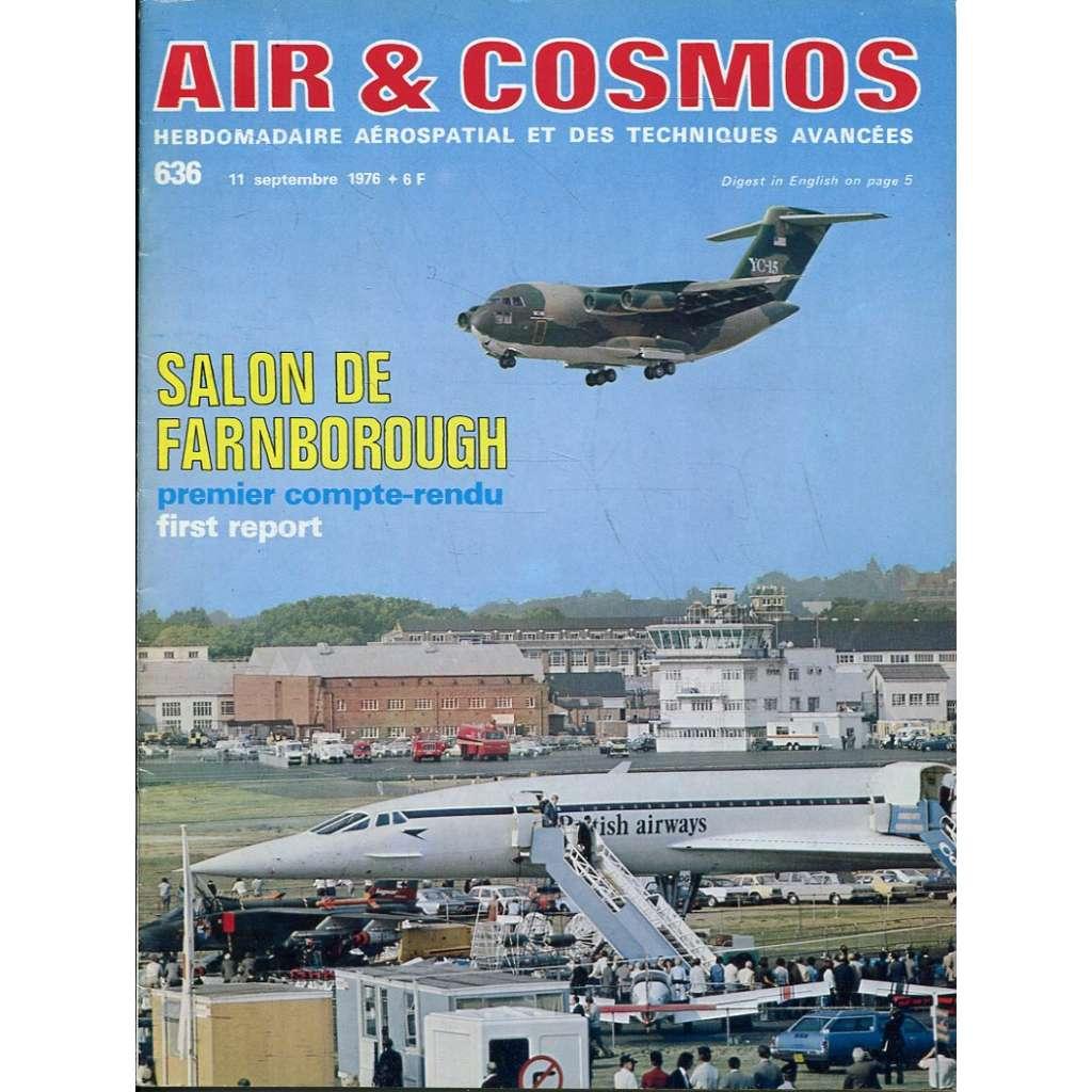 Air & Cosmos 11/9/1976, No. 636 (letadla, letectví)