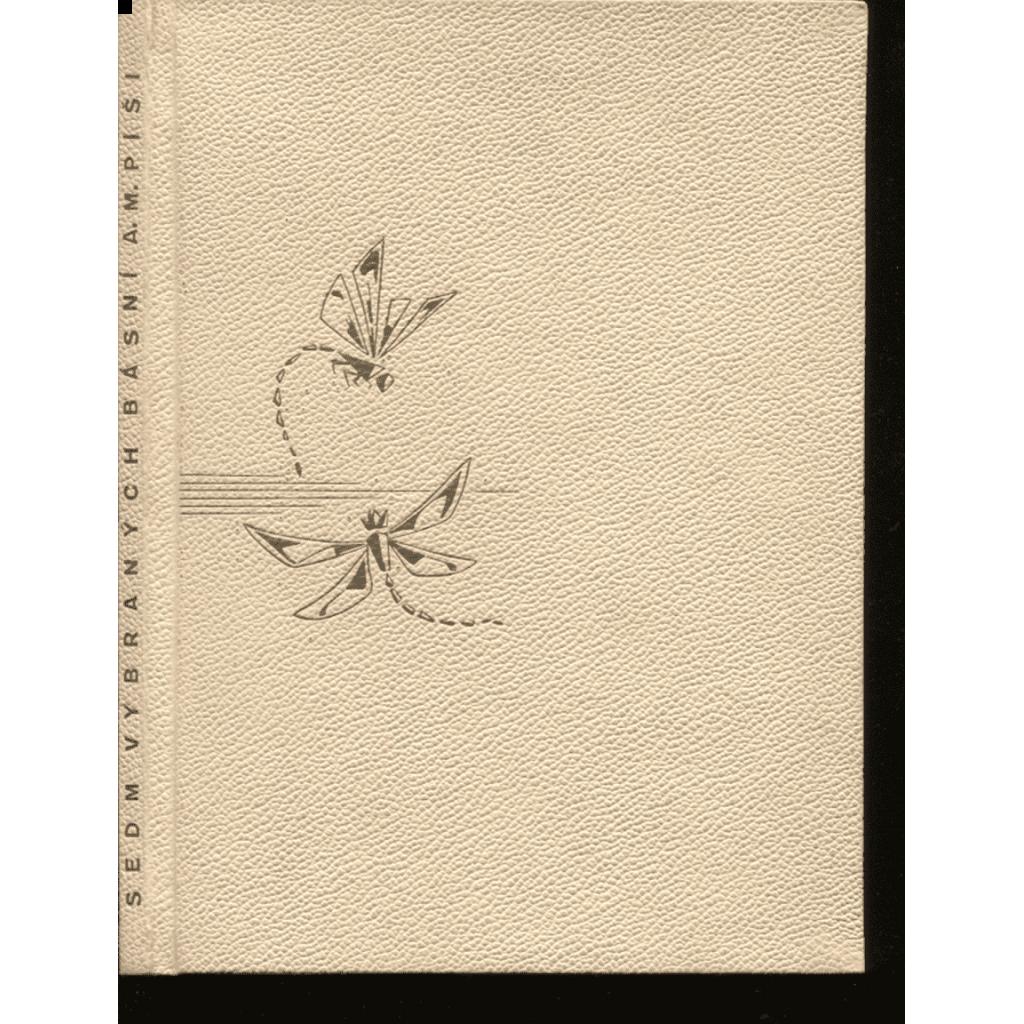 Sedm vybraných básní A. M. Píši (podpis)