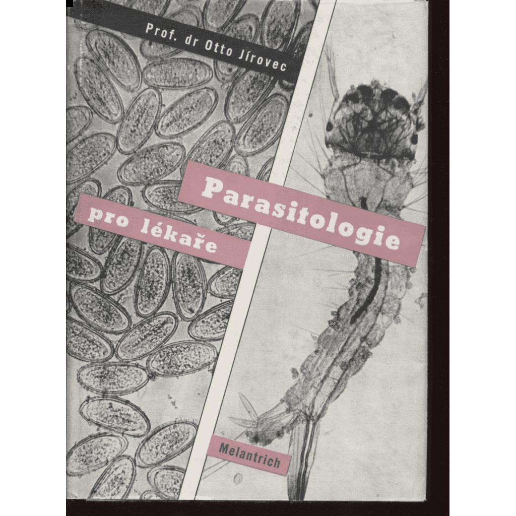 Parasitologie pro lékaře (obálka Karel Teige)