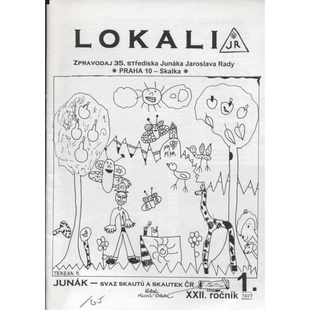 Lokali, č. 1/2007, ročník XXII. (Skaut, Junák)