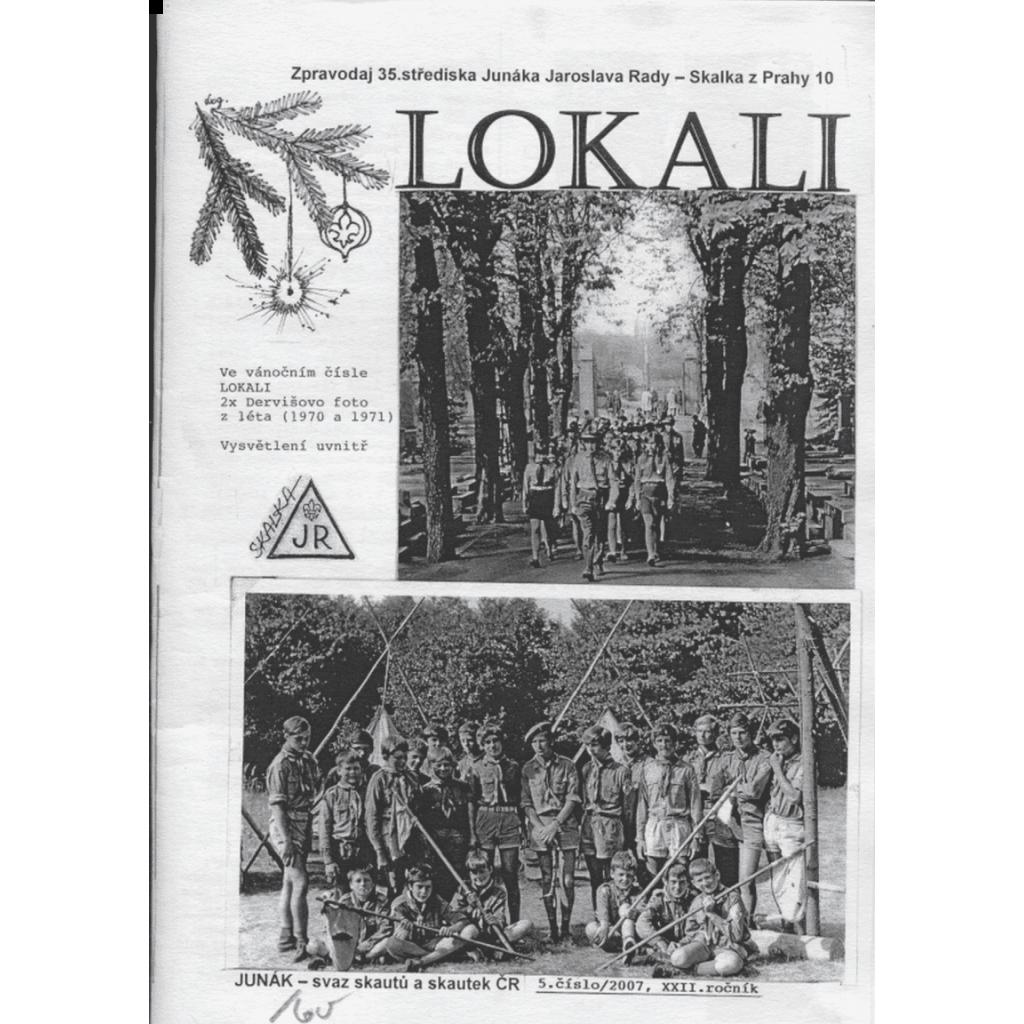 Lokali, č. 5/2007, ročník XXII. (Skaut, Junák)