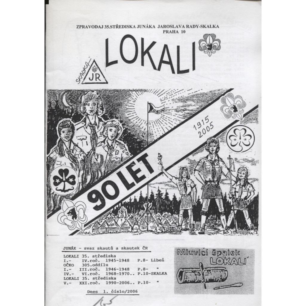 Lokali, č. 1/2006 (Skaut, Junák)