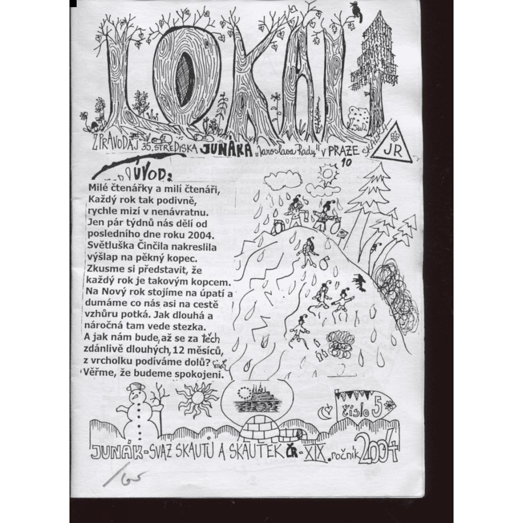 Lokali, č. 5/2004, ročník XIX. (Skaut, Junák)
