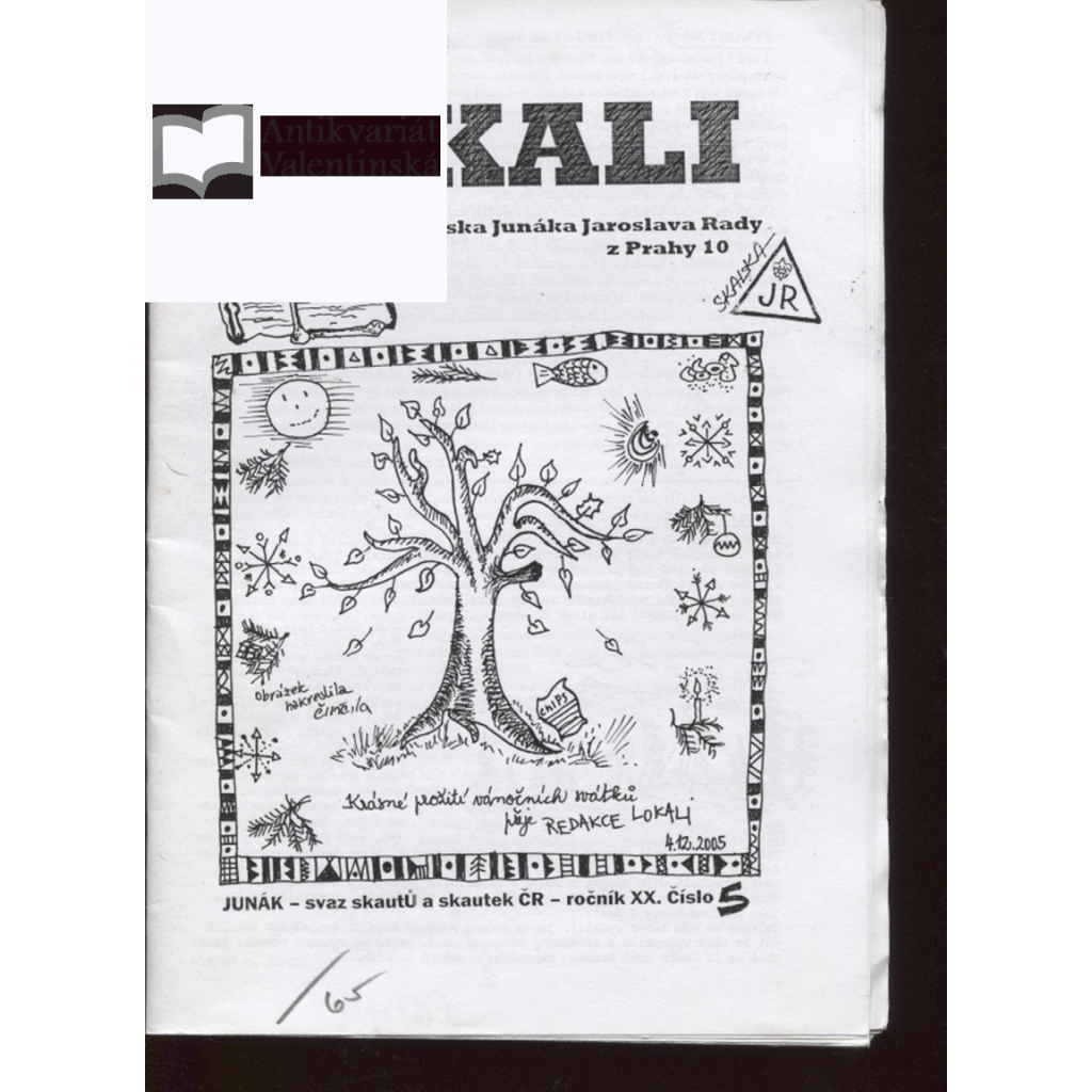 Lokali, č. 5/2005, ročník XX. (Skaut, Junák)