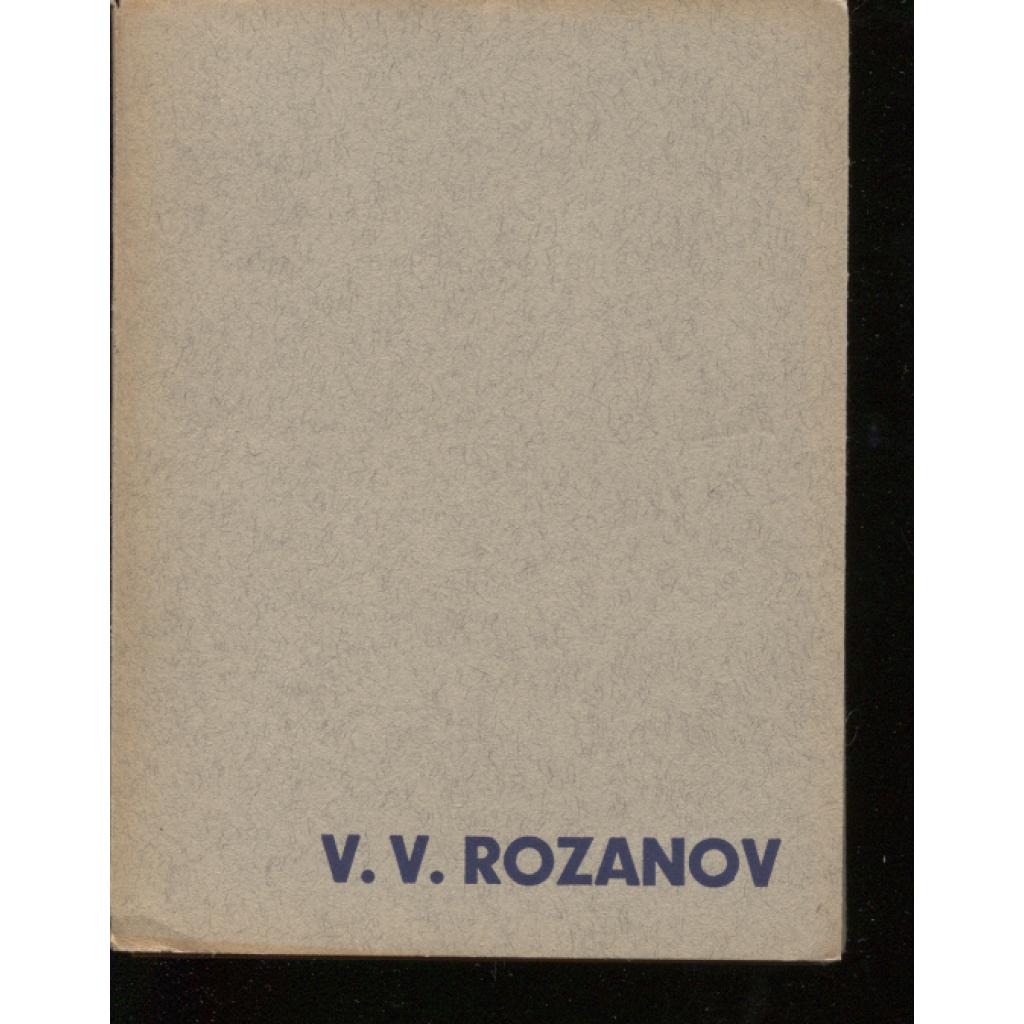 V. V. Rozanov (Stará Říše)
