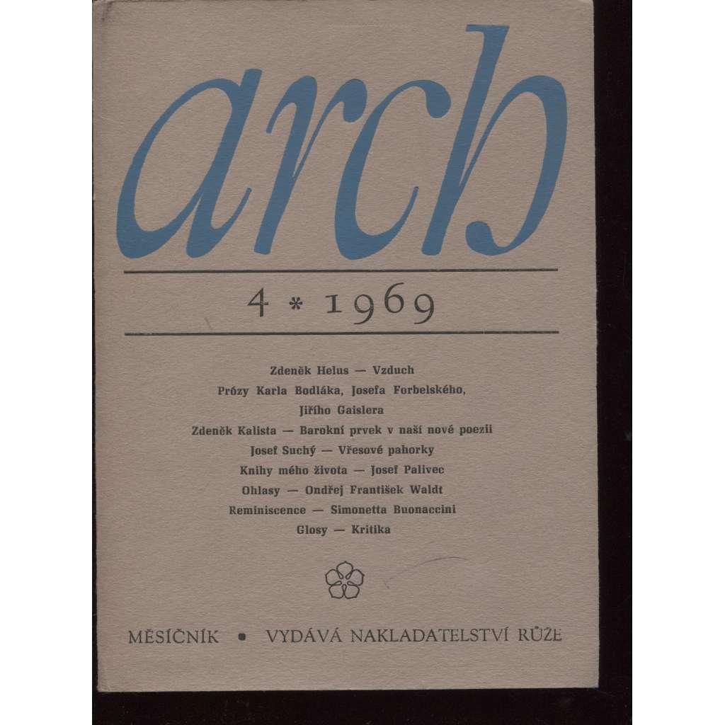 ARCH 4/1969, měsíčník