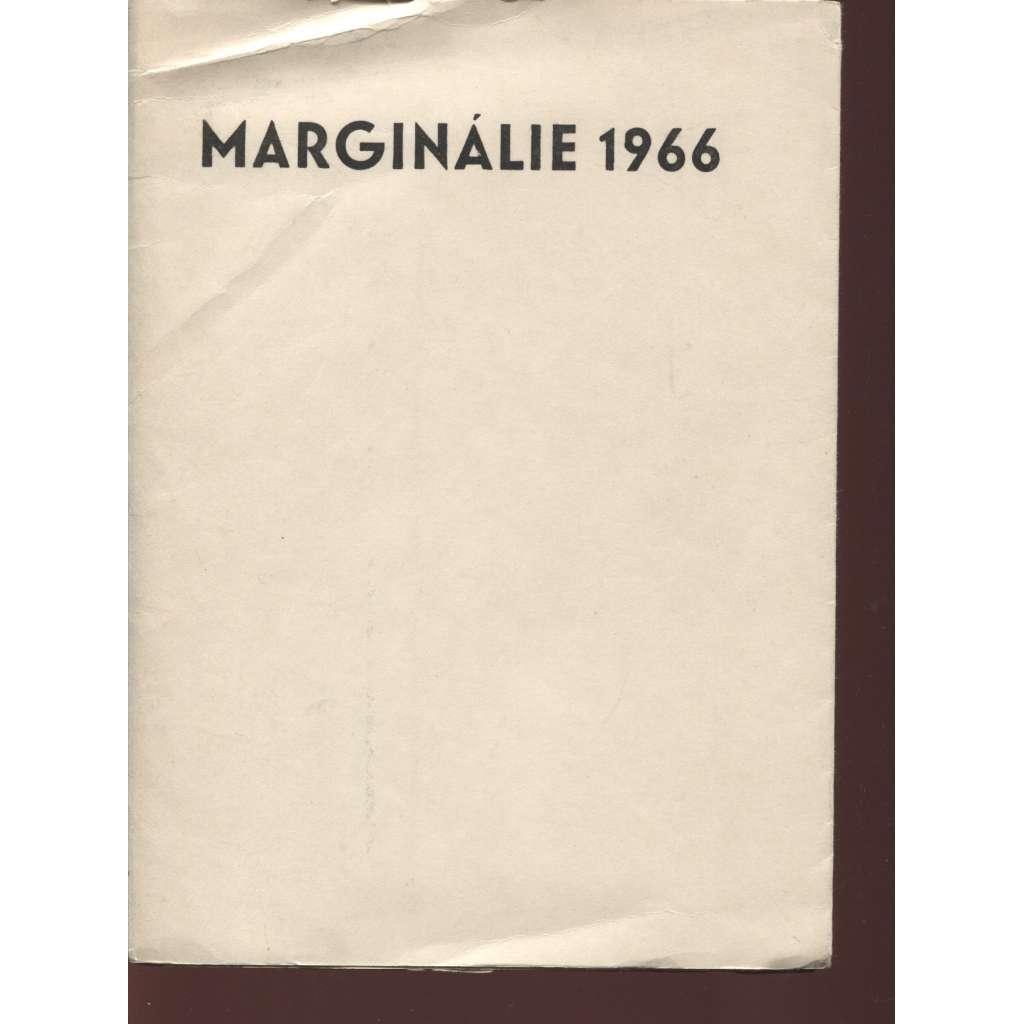 Marginálie 1966