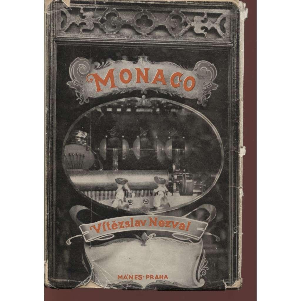 Monaco (obálka Jindřich Štyrský)