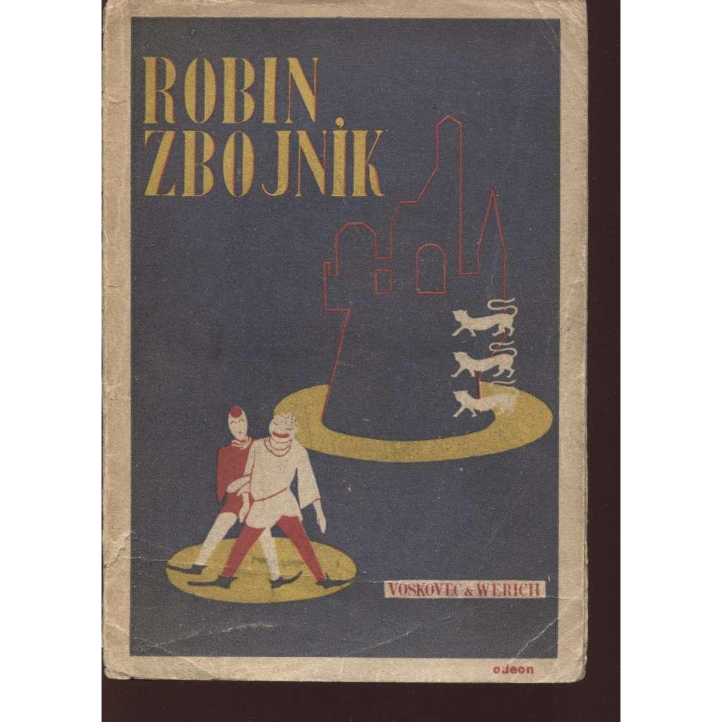 Robin zbojník (obálka F. Zelenka)
