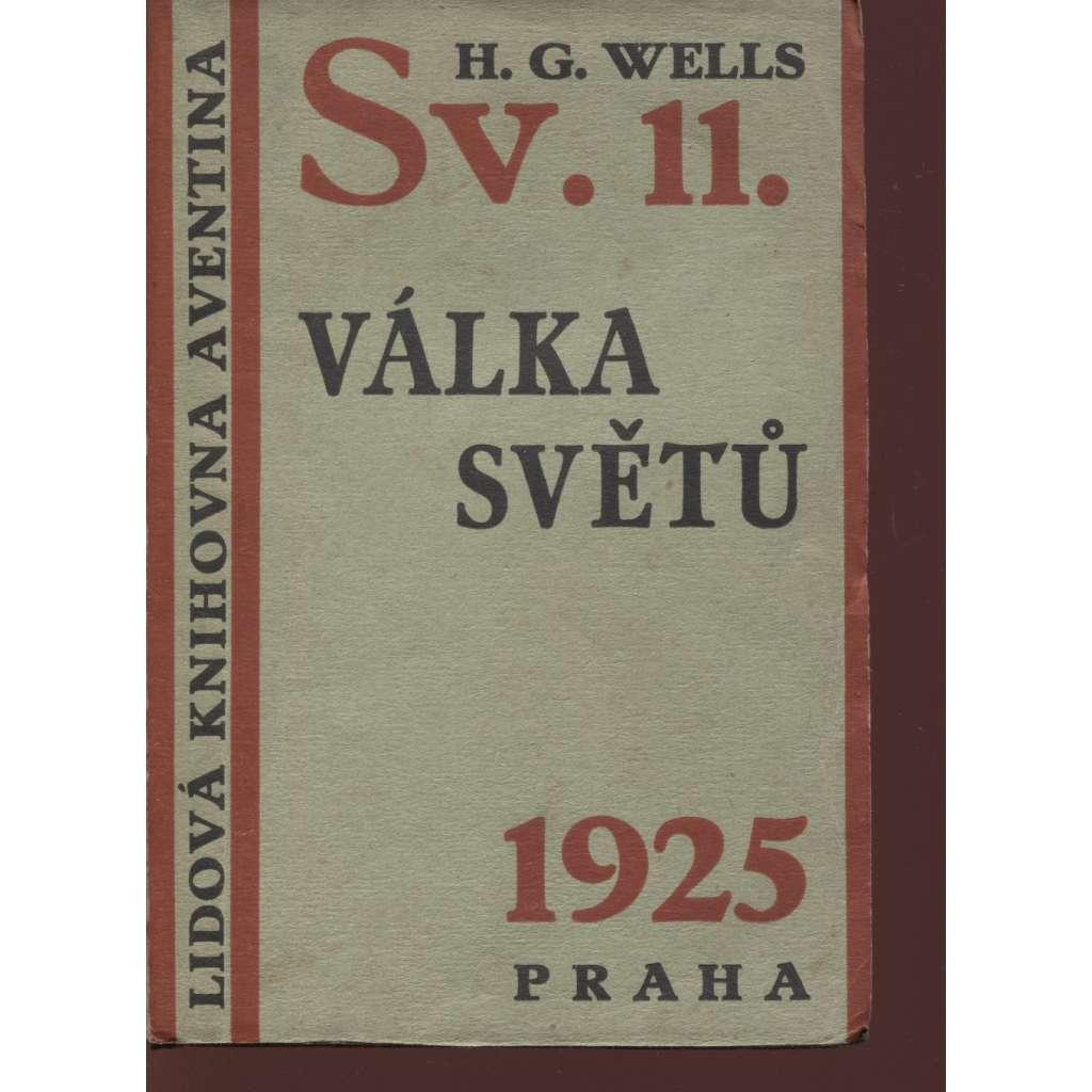 Válka světů (Lidová knihovna Aventina)
