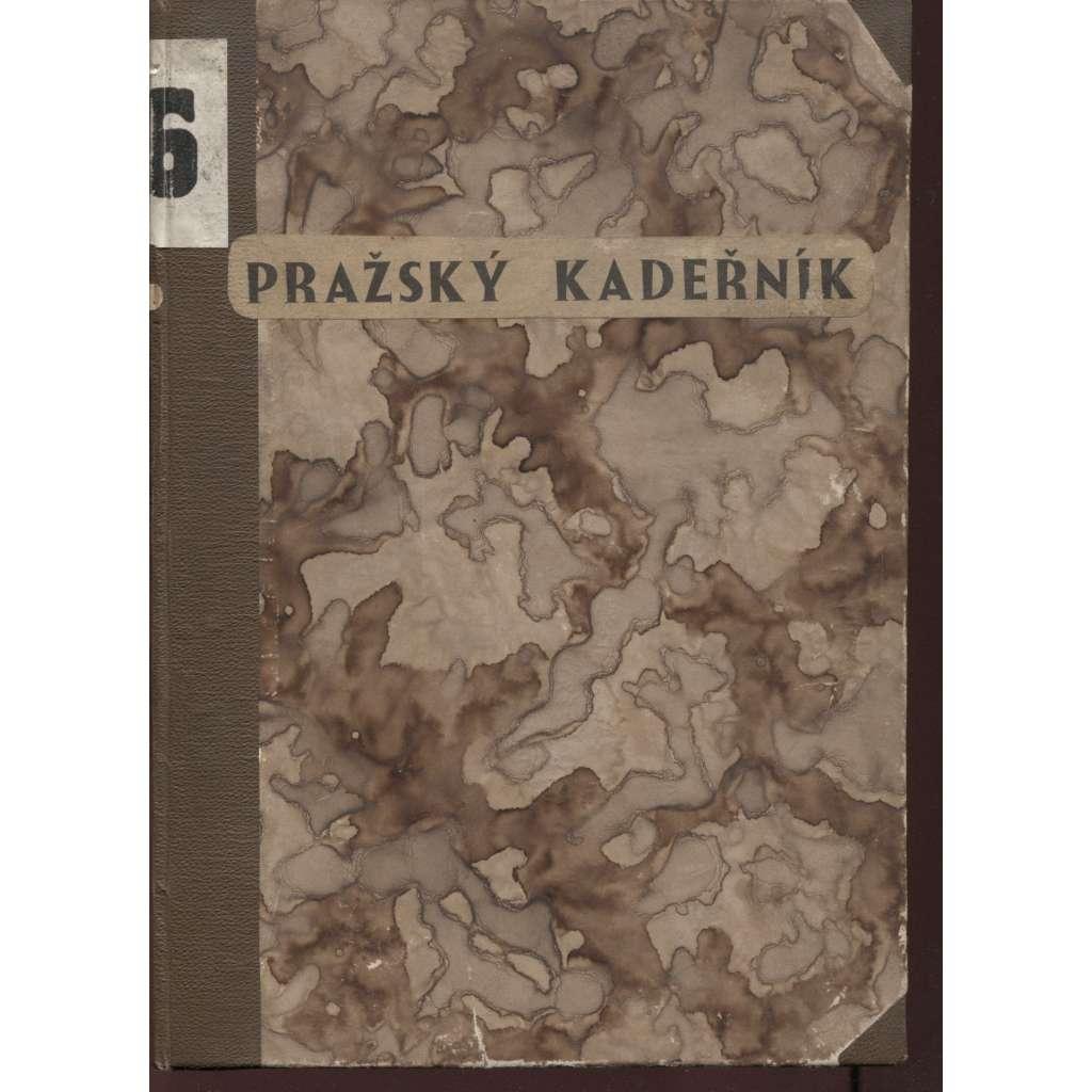 Pražský kadeřník, čísla 1-12, roč. V./1936 (móda)