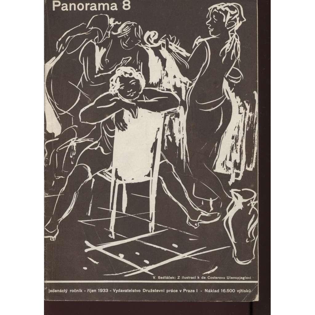 Panorama 8/1933 (Zpravodaj Družstevní práce)