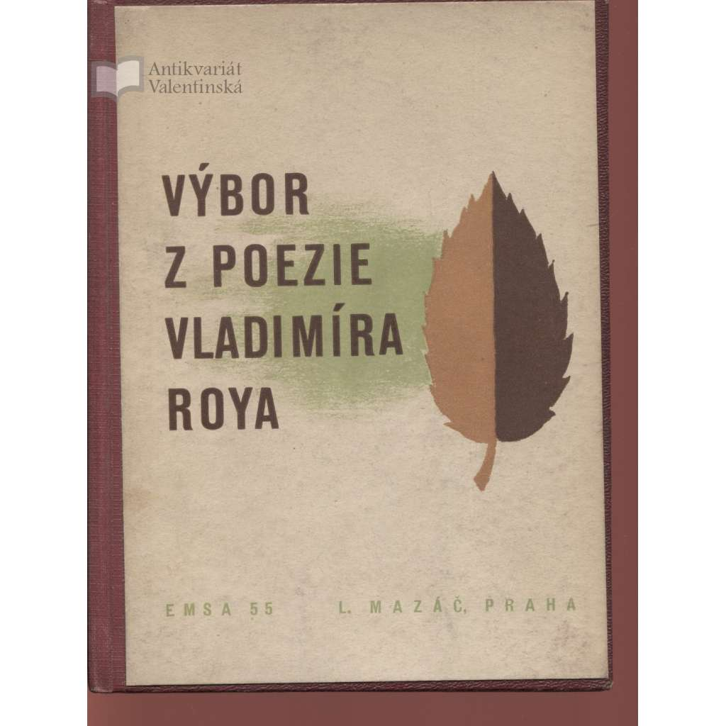 Výbor z poezie Vladimíra Roya (text slovensky)