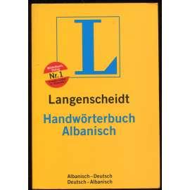 Langenscheidt Handwörterbuch Albanisch. Teil I. Albanisch-Deutsch; Teil II. Deutsch-Albanisch