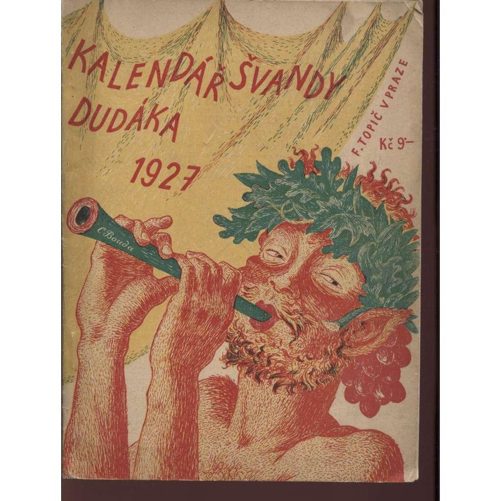 Kalendář Švandy dudáka 1927