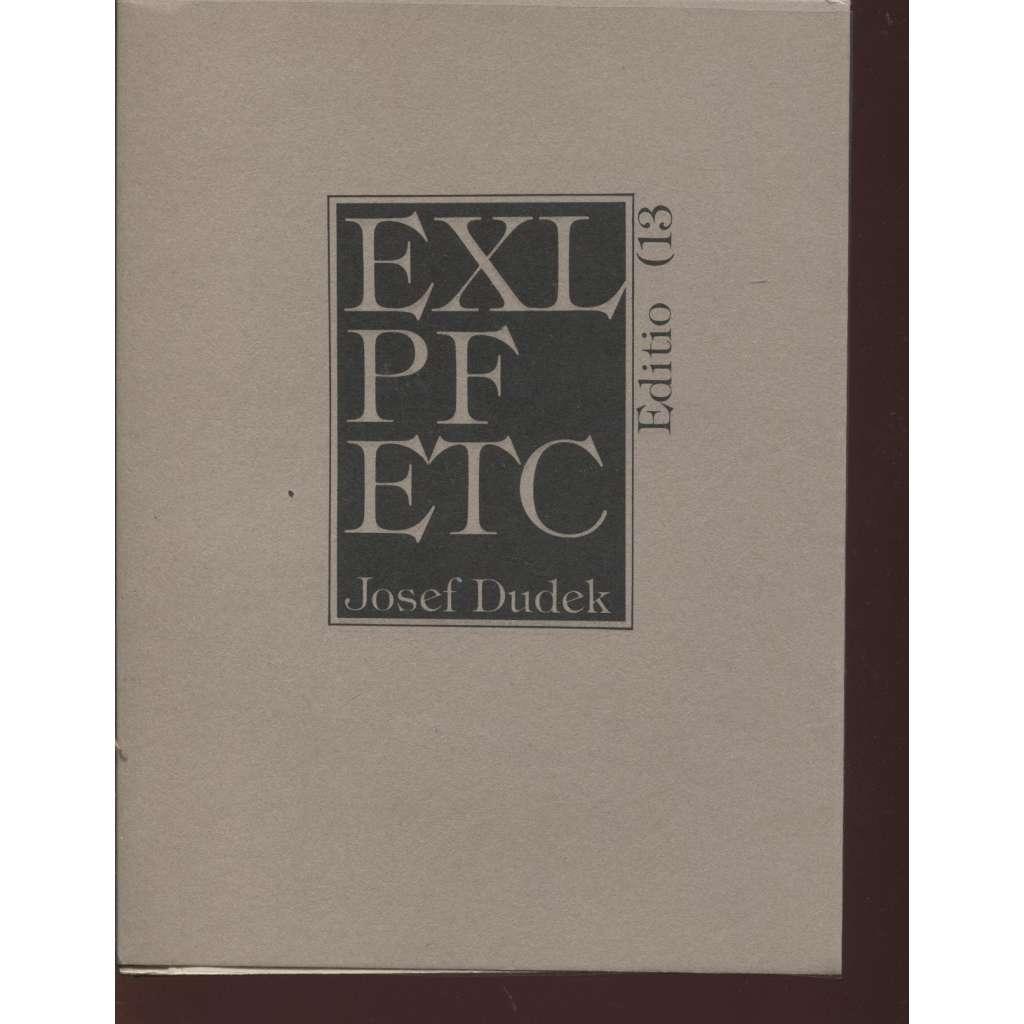 EXL PF ETC (13x grafika Josef Dudek)