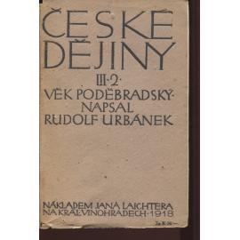 České dějiny III., část 2.